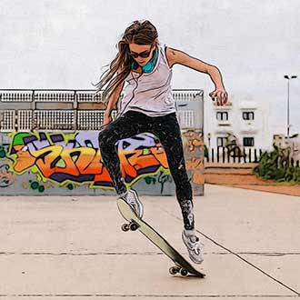BeCasso Skate, Digital Masterpieces