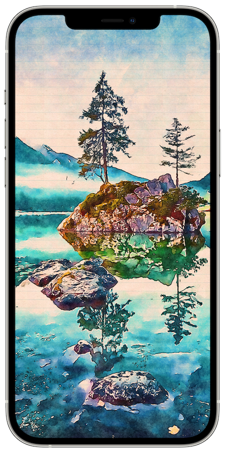 Transform images into watercolors